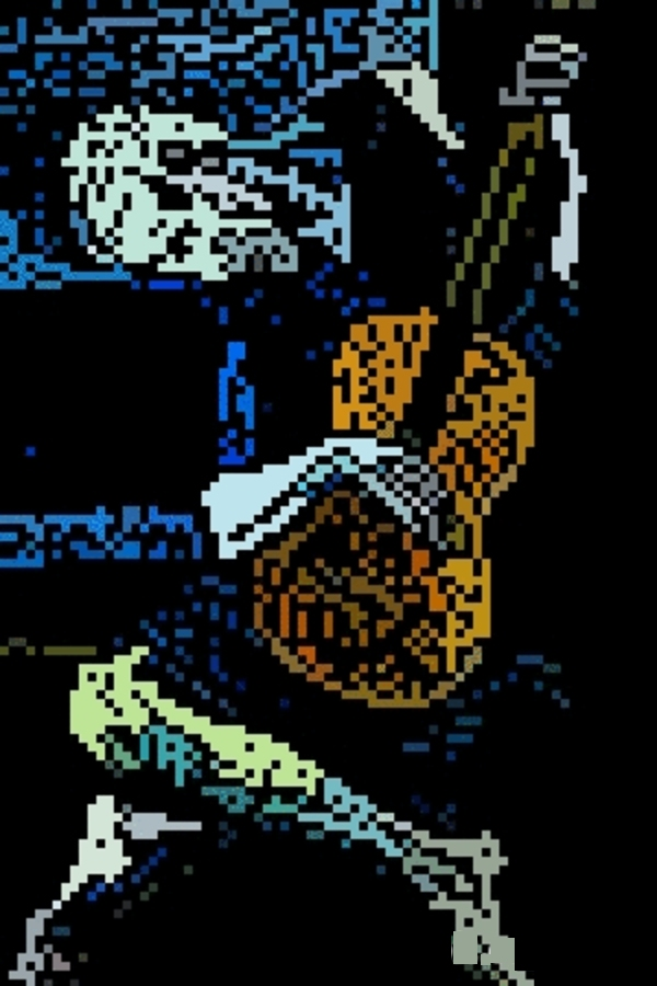 The Old Guitarist by 8 Bit Masters