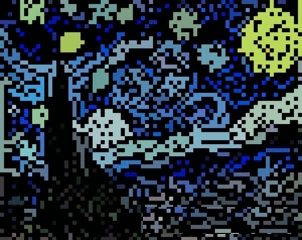 Starry Night by 8 Bit Masters